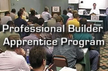 Professional Builder Apprentice Program (550+)