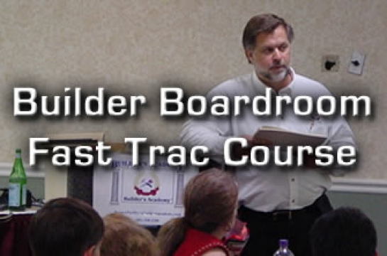 Builder/ Boardroom Fast Trac Course