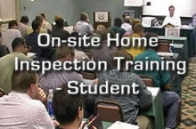 On-site Home Inspection Training - Student