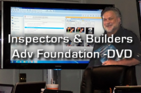 Inspectors & Builders Adv Foundation -DVD