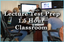 Lecture Test Prep 1.5 hr classroom